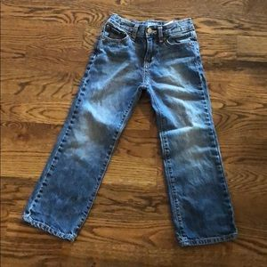 Boys old navy boot cut jeans